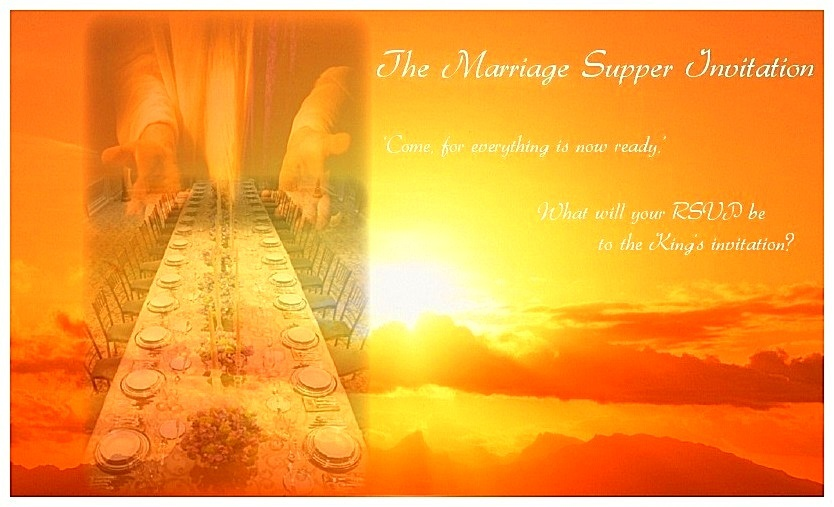 Marriage Supper Invitation