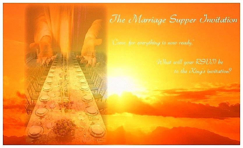 Marriage Supper Invitation
