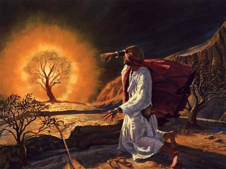 Image result for god speaks to moses