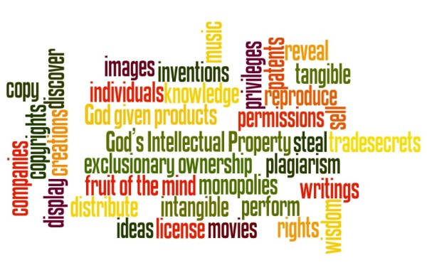 God's Intellectual Property