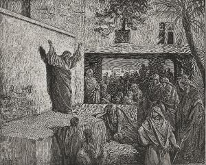 Micah Exhorting The Israelites to Repentance by Gustave Doré