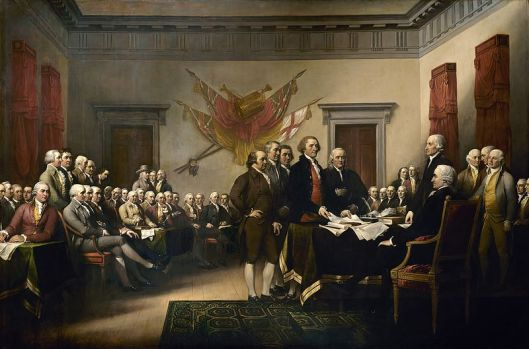 John Trumbull's Declaration of Independence Painting
