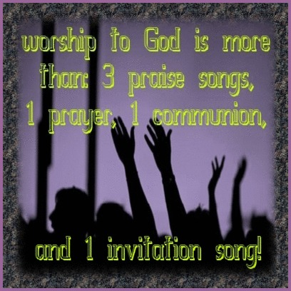 Worship To God