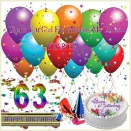 Nadine's 63rd Birthday