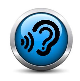 Listening Button, by Ross Cochrane