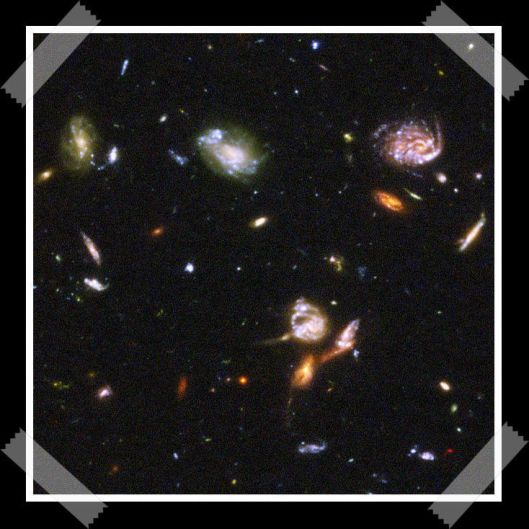 "~ ""Hubble Ultra Deep Field part d"" by NASA, ESA, S. Beckwith (STScI) and the HUDF Team"