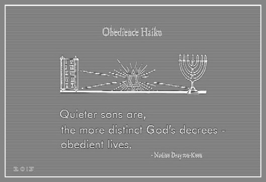 Obedience Haiku