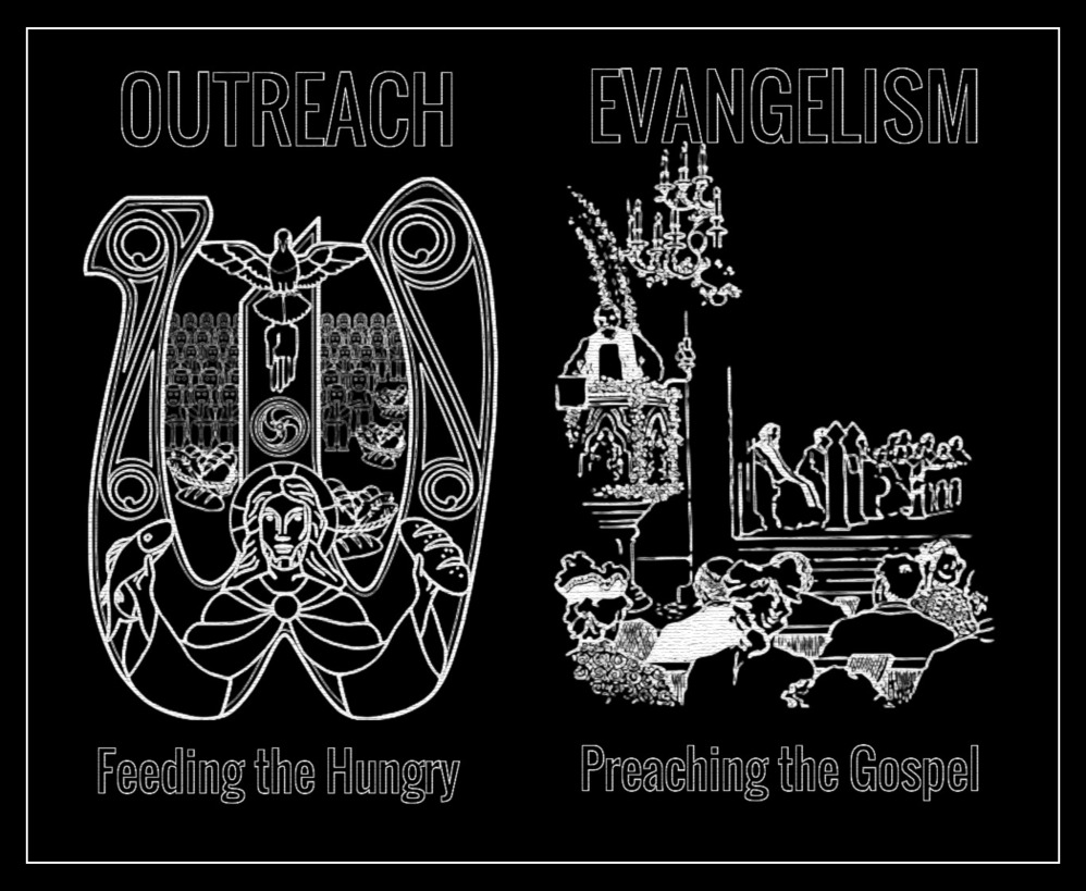 Outreach vs. Evangelism