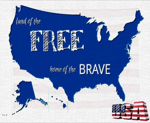 Land of the Free & Home of the Brave