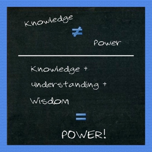 knowledge-isnt-power