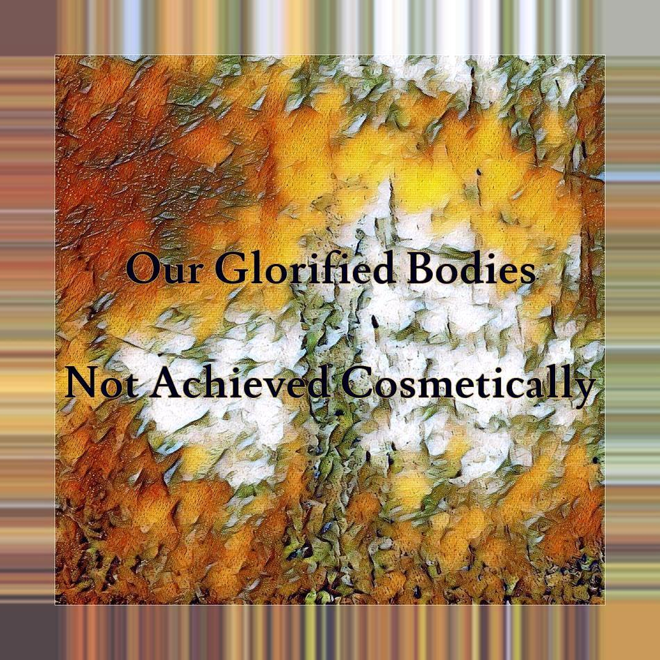 Glorified Bodies Not Made Cosmetically